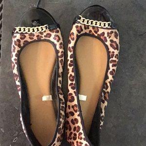 Merona Cheetah Flats